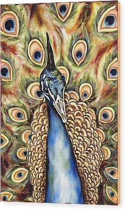 Applause Wood Print by Hiroko Sakai