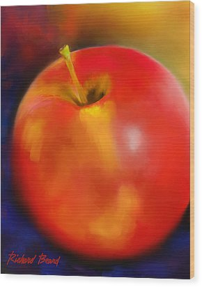 Apple A Day Wood Print