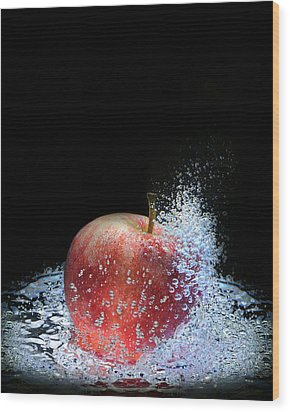 Apple Wood Print by Krasimir Tolev