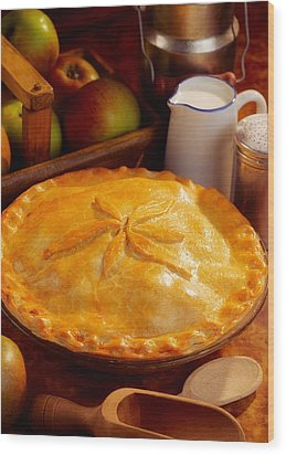 Apple Pie Wood Print by The Irish Image Collection