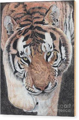 Approaching Tiger Wood Print
