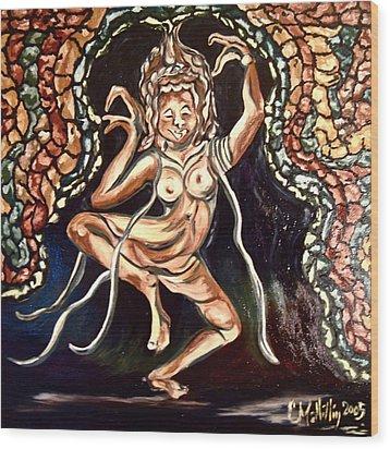 Apsara Wood Print