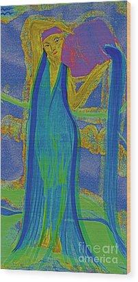 Aquarius By Jrr Wood Print by First Star Art