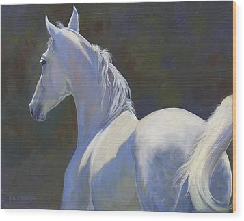 Wood Print featuring the painting Arabian Light by Alecia Underhill