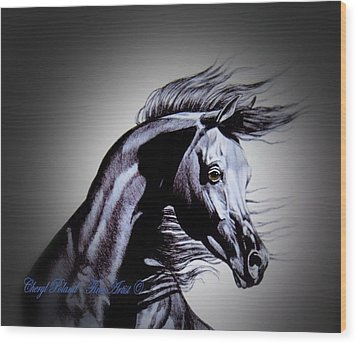 Arabian Motivation Wood Print