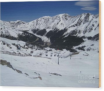 Arapahoe Basin June 2  Wood Print by Fiona Kennard