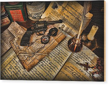 Archaeologist - Jamaican Expedition  Wood Print by Lee Dos Santos
