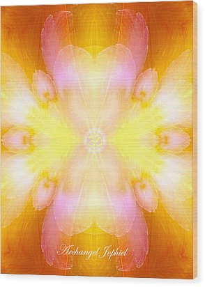 Archangel Jophiel Wood Print