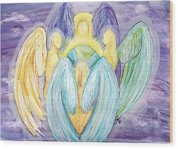 Archangels Wood Print
