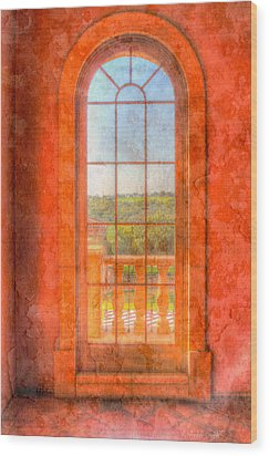 Arched Wood Print by Heidi Smith