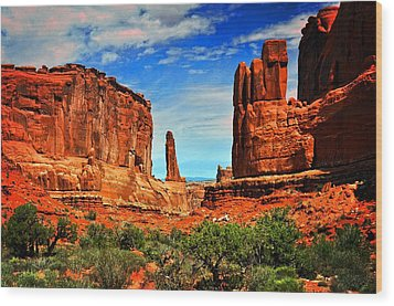 Arches 15 Wood Print by Marty Koch