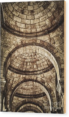 Arches Wood Print by Elena Elisseeva
