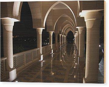 Arches In Abu Dhabi Wood Print