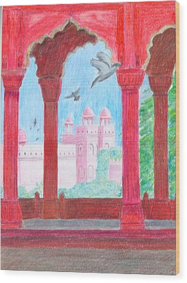Arches Of India Wood Print