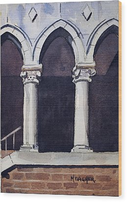 Arches  Wood Print by Spencer Meagher