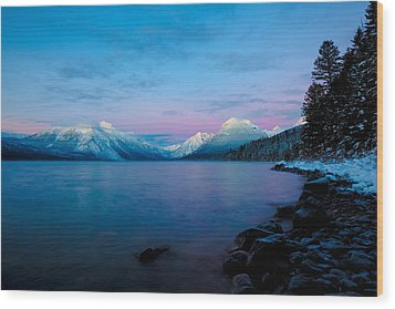 Wood Print featuring the photograph Arctic Slumber by Aaron Aldrich