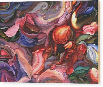Aria - Acrylic On Canvas Wood Print