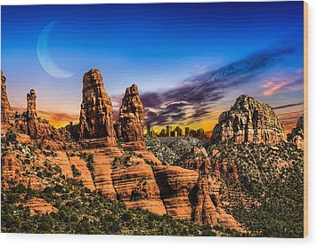 Arizona Life Wood Print
