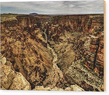 Arizona - Little Colorado River Gorge 004 Wood Print