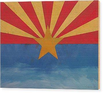 Arizona Wood Print by Michael Creese