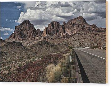 Arizona Road Wood Print by Joyce Isas