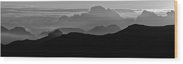 Wood Print featuring the photograph Arizona View by Atom Crawford