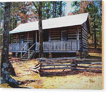 Arkansas' Heritage Wood Print by Vivian Cook