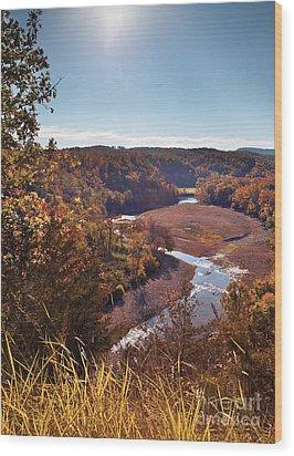 Arkansas Valley Wood Print by Brandon Alms