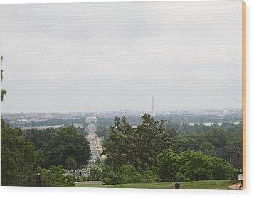Arlington National Cemetery - 01136 Wood Print by DC Photographer