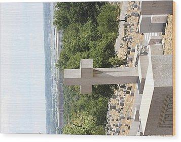 Arlington National Cemetery - 121226 Wood Print by DC Photographer