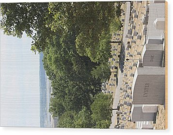 Arlington National Cemetery - 121227 Wood Print by DC Photographer
