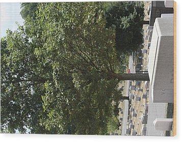 Arlington National Cemetery - 121228 Wood Print by DC Photographer