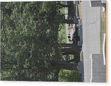 Arlington National Cemetery - 121233 Wood Print by DC Photographer