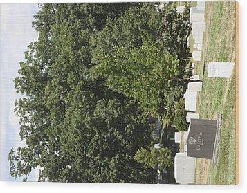 Arlington National Cemetery - 121238 Wood Print by DC Photographer