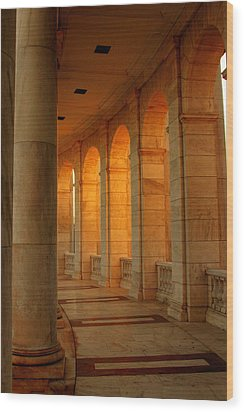 Arlington National Cemetery Wood Print