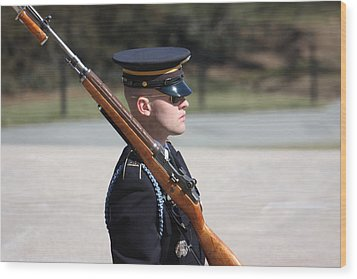 Arlington National Cemetery - Tomb Of The Unknown Soldier - 121219 Wood Print by DC Photographer