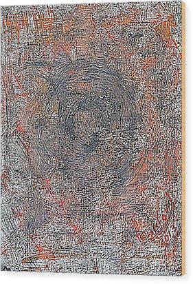 Armageddon 8 Wood Print by Richard W Linford