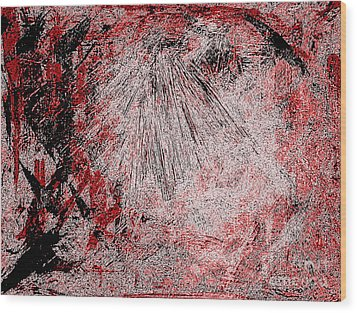 Armageddon Five Wood Print by Richard W Linford