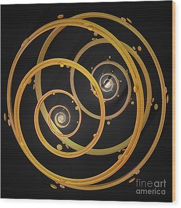 Armillary By Jammer Wood Print by First Star Art