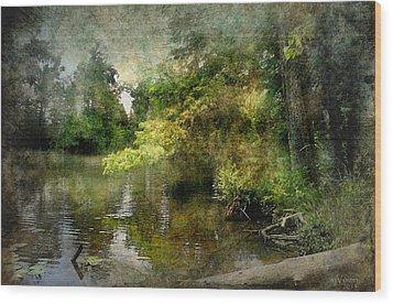 Around The Bend Wood Print by Bill Voizin