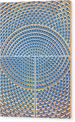 Array  Wood Print by John Illingworth