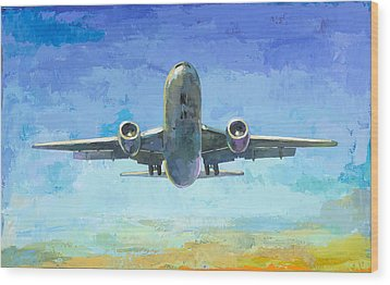 Arrivals #5 Wood Print by David Palmer