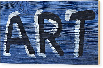 ART Wood Print by Chris Berry