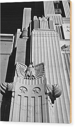 Art Deco Wood Print by Larry Butterworth