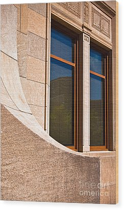 Art Deco Wood Print by Lawrence Burry