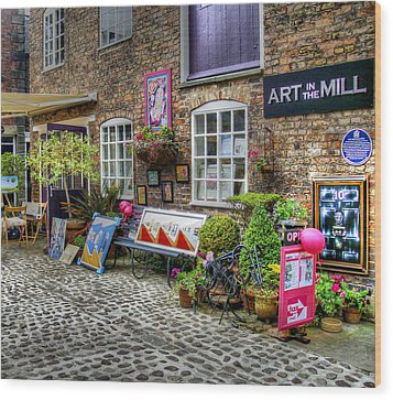 Art In The Mill Wood Print by Doc Braham