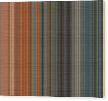 Art Wave 49 Wood Print by Ricki Mountain