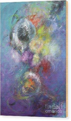 Arta Nebula Wood Print by Jason Stephen