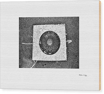 Arte Urban 11 Wood Print by Xoanxo Cespon