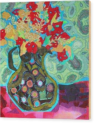 Artful Jug Wood Print by Diane Fine